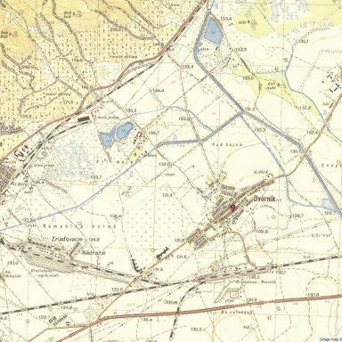 Historické mapy - Vajnory